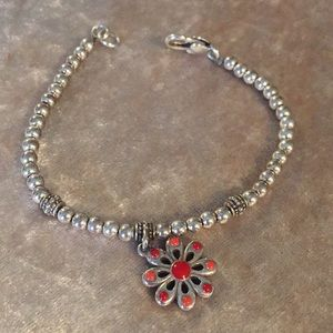 Brighton ss bracelet with daisy charm👍🏻👍🏻💙